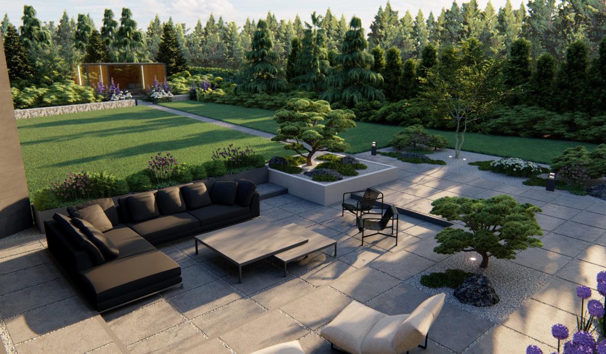 Projektowanie ogrodów.